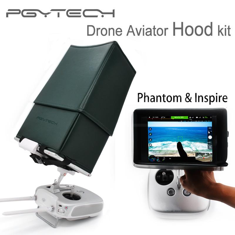 Prix pour PGY 5.5 7.9 9.7 Pouce Entouré Lens Hood Télécommande Moniteur hood pour comprimés dji inspire 1 phantom 3 pro/adv phantom 4