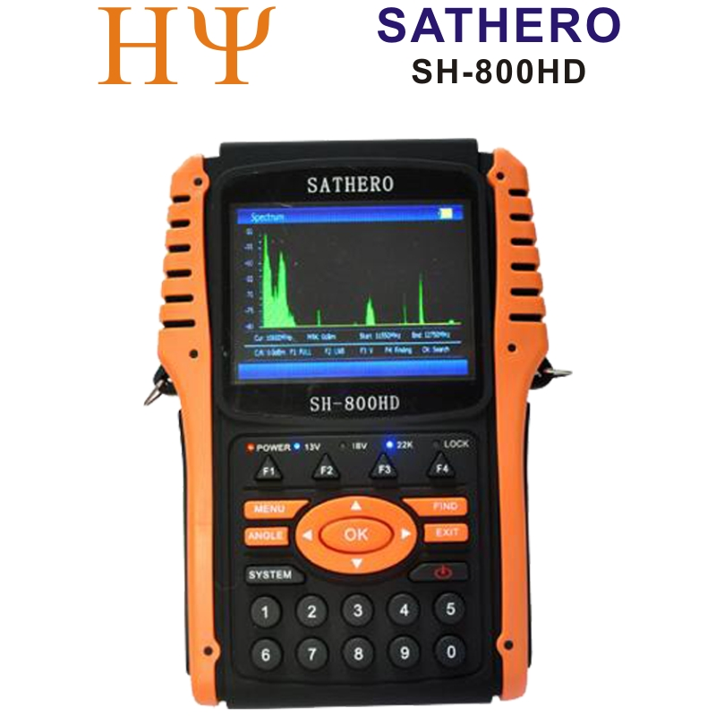 Original Sathero SH-800HD DVB-S2 Digital Satellite Finder Meter SH-800 USB2.0 HD Output Sat finder HD with Spectrum Analyzer inter step sh 50 lite is hd sh50tablt