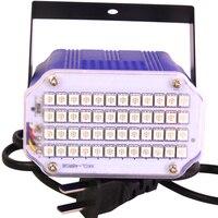 10 UNIDS Profesional Partido Efecto de luz LED Luces de la Etapa de Control de Sonido mini sala de Luz estroboscópica para el Partido Del Disco de DJ KTV Club de super brillante