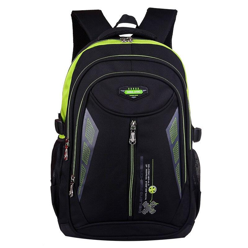a854ce1b635f Водонепроницаемый нейлон женщин мужские рюкзаки осветления Mochilas  escolars masculina детей школьные сумки для подростков Девочки Мальчики