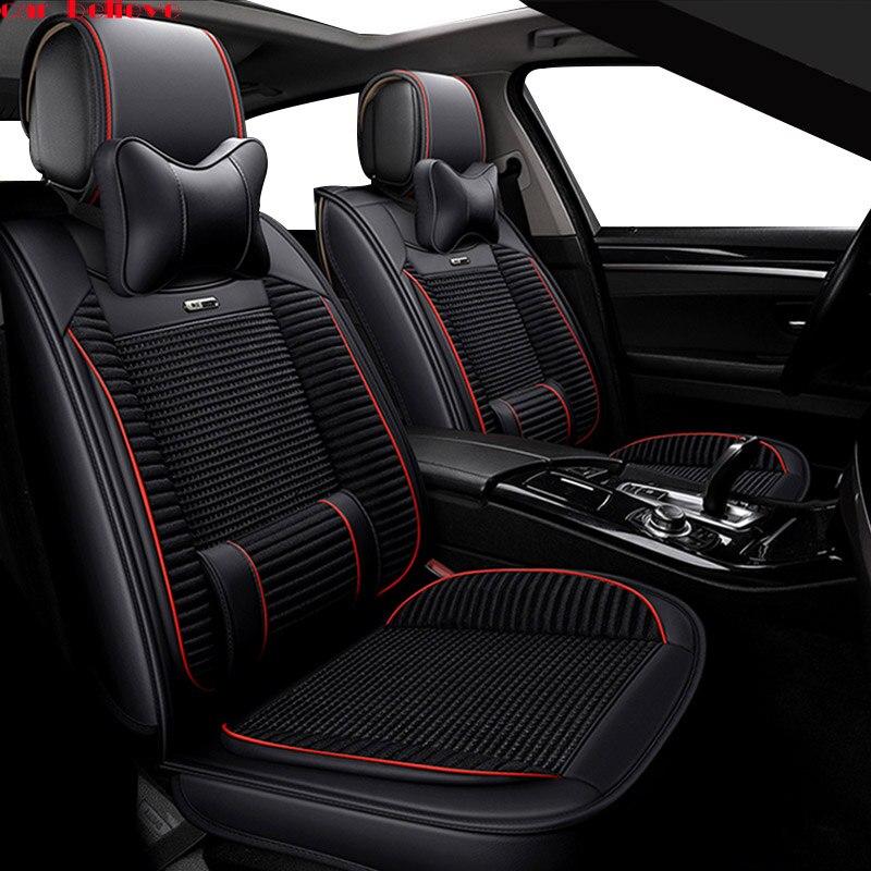 Автомобиль считают автомобиль чехлы для сидений hyundai solaris 2017 creta getz i30 акцент ix35 i40 аксессуары Чехлы для сидения автомобиля