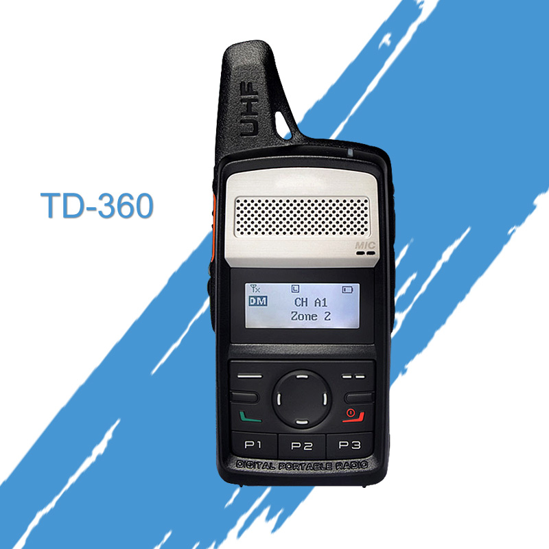 Walkie Talkie 400 440MHz TD360 Protable Radio TD36X TD 360 PD365 DMR Transmitter Two Way Radio