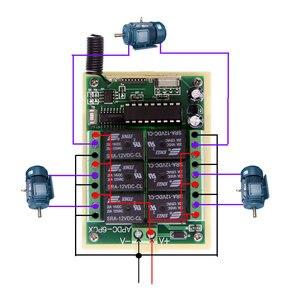 Image 3 - 3000 متر طويلة المسافة DC 12 فولت 24 فولت 6 CH 6CH جهاز ريموت كنترول لا سلكي يعمل بالتردد الراديوي التبديل نظام ، الارسال + استقبال ، 315/433 ميجا هرتز