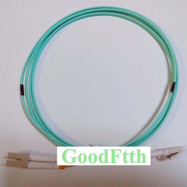 סיבי תיקון כבל מגשר כבל LC LC Multimode OM3 50/125 דופלקס 10G GoodFtth 20 100 m
