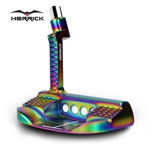 Image 3 - ゴルフパタークラブメンズカラフルなcnc 33 34 35インチグリップオプション色とヘッドカバー