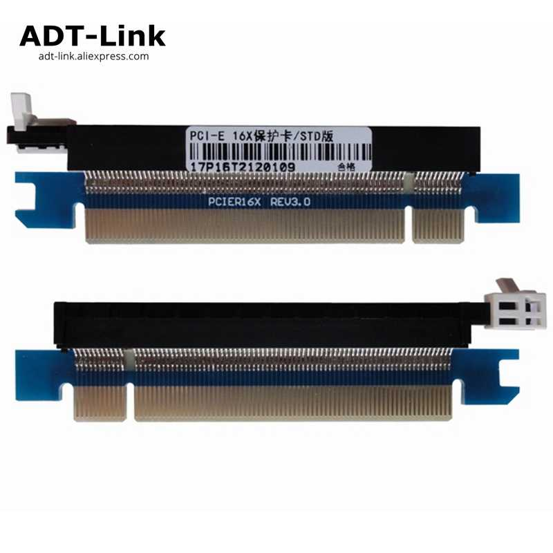 New PCIe 164 Pin 16x Male to Female Riser Extended Card