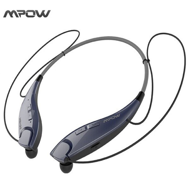 Mpow Wireless Bluetooth V4.1Stereo  Headphones In-ear Crystal Sound Light  Neckband Headphones Earphone Hands-free Calling футболка wearcraft premium slim fit printio los angeles kings nhl usa