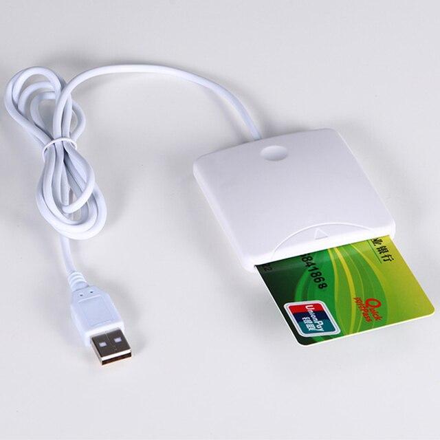 USB Smart Credit Card Reader Бесконтактные Смарт-Чип-Карты IC Карты Писатель С SIM Слот Для Смарт-Карты