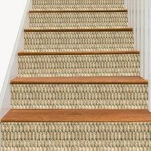 """6 шт./компл. творческий бамбука наклейка """"Лестница"""" настенные росписи обои, съёмные наклейки плакат пол палочки Гостиная домашний декор"""