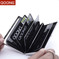Stainless Steel RFID Blocking Credit Card Holder Protection For Your Bank Debit ID ATM Cards Metal