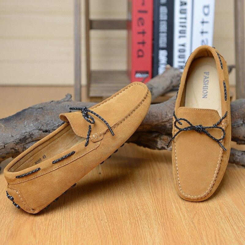 2016 Italia diseño hombres Zapatos primavera Mocasines mens