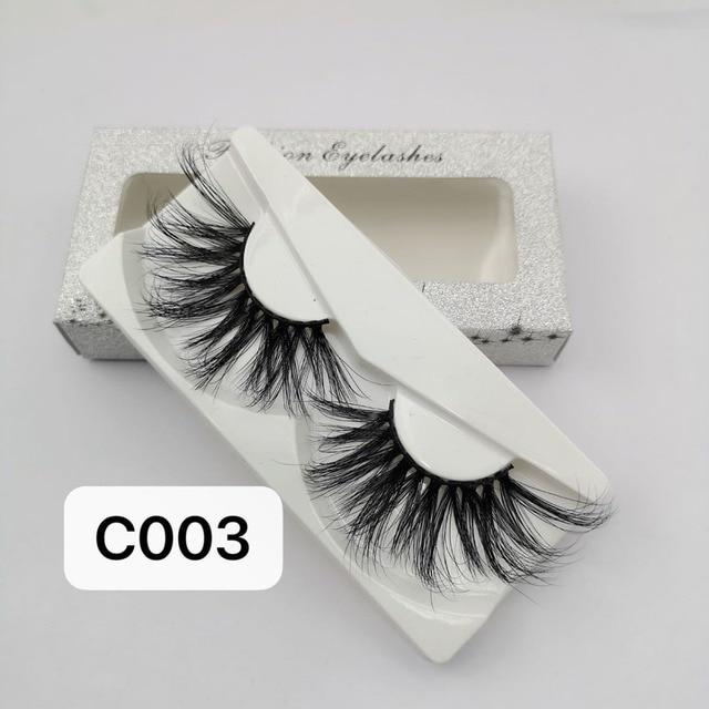 NEW Length 30mm Mink Eyelashes False Eyelashes Crisscross Natural Fake lashes Makeup 3D Mink Lashes Extension Eyelash Beauty 1