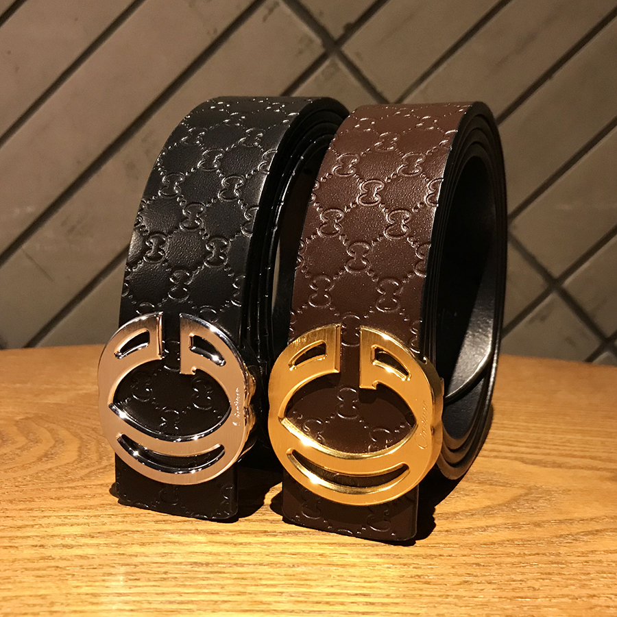 2018 new Luxury brand alligator belt