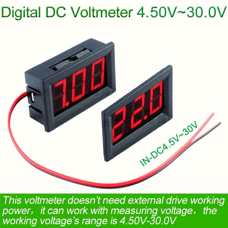 Online Buy Wholesale 24v voltmeter from China 24v