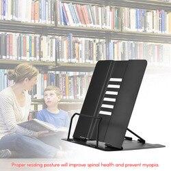 Офисная/школьная книжная подставка, книжная полка, держатель для документов, стальной держатель для книг, регулируемый шестиугольный инстр...