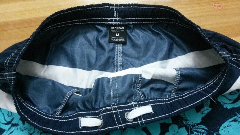 Marca de moda Hombres Tablero Pantalones cortos Hombres Playa traje - Ropa de hombre - foto 5