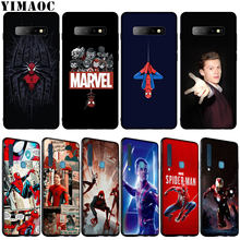 YIMAOC Tom Holland Marvel Iron Man Soft Silicone Phone Case for Samsung Galaxy S10 E S9 S8 Plus S6 S7 Edge S10e TPU Black Cover(China)