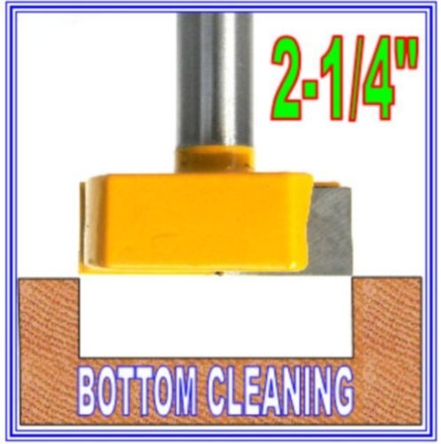 1 PC 1/2 Shank 2-1/4 Diameter Bottom Cleaning Router Bit Woodworking Clean Bits 1pc cleaning bottom router bit cutter cnc woodworking clean bits 1 2 shank dia