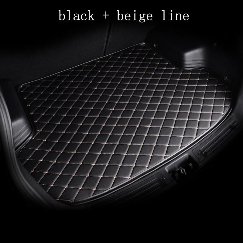 WLMWL Car Cargo Liner for Volkswagen passat b5 b6 b7 polo 4 5 6 7 golf tiguan Boot Mat Trunk Mat Floor Carpet|  - title=