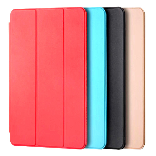 Smart Cover For IPad Mini4 Ultra Slim Flip PU Leather Case + PC Translucent Back Case For Apple Ipad Mini 4 #C