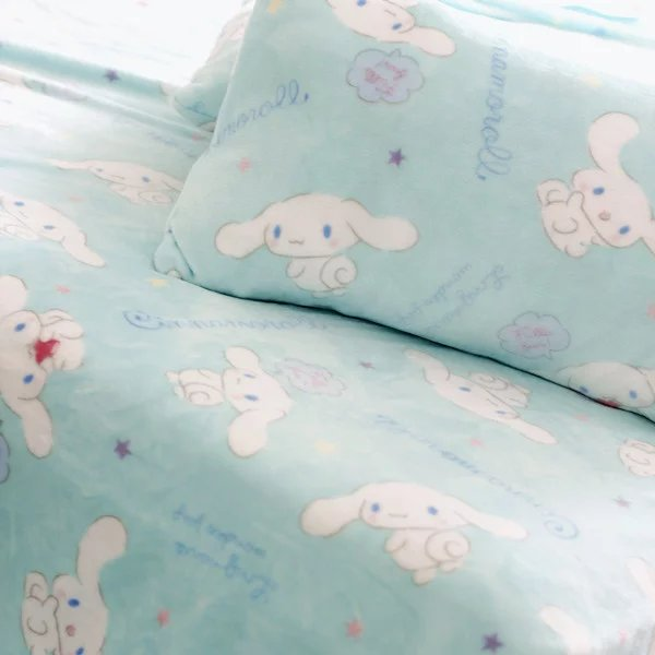 Candice guo! creative cute Cinnamoroll cartoon big ears white dog plush blanket pillowcase birthday gift light blue 1pc 10 60 90 120 a wood cnc router bits cutting tools for cnc machine