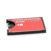2019 Nova Velocidade SDXC SDHC Adaptador Leitor de Cartão de Memória SD para CF Compact Flash Tipo I Alta