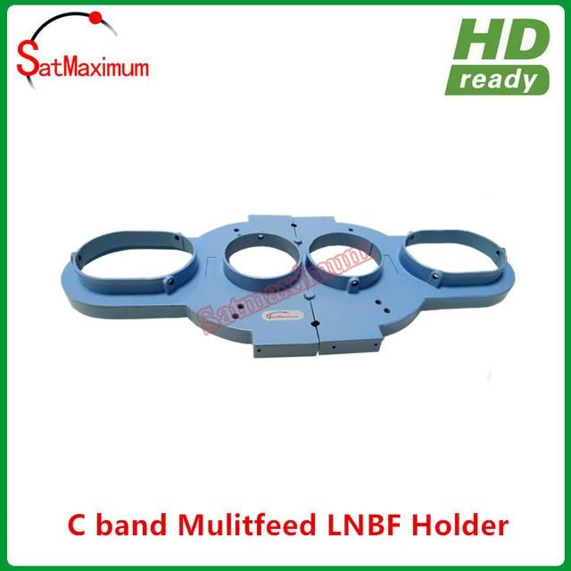 Free shipping Multi Feed C Band LNB Bracket Holder Mount hold up to 4pcs C Band LNB