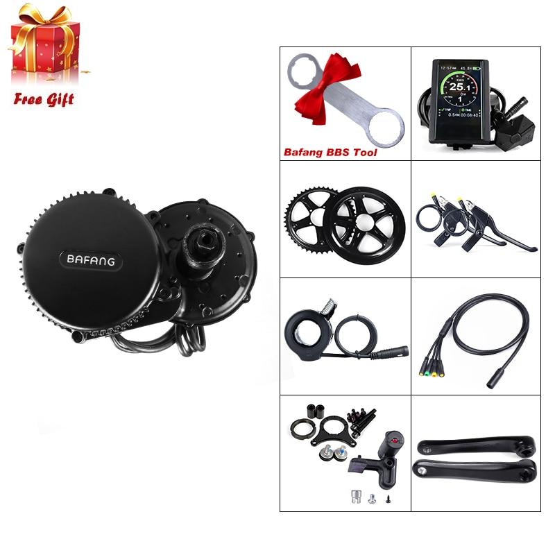 Bafang 36V 350W Bike Electric Conversion Kits 8Fun BBS01B Mid Drive Motor DPC18 850C SW102 Display