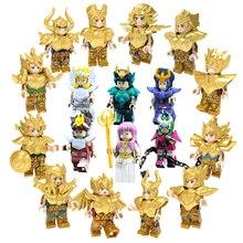 Saint Seiya Gold Saint Athena Shiryu ледник японского аниме Созвездие фигурки Кирпичи Блоки Игрушки совместимы с Lego