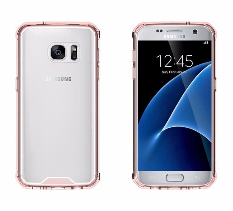 Samsung Galaxy S7 üçün Kristal Təmiz Arxa Panel Qabıqlı Ultra - Cib telefonu aksesuarları və hissələri - Fotoqrafiya 2