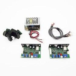 Laserowe galwanometr 20 kb na sekundę Galvo skaner laserowy skanowania Galvo z ILDA płyta sterowania DB25 Port dla DJ Laser sceniczny pokaz świetlny