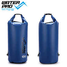 Water Pro 50L Solid Colour Waterproof Dry Bag Camping Kayaking Snorkeling Diving Boating Surfing