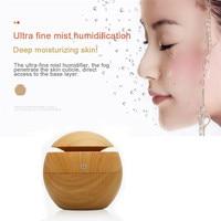 Lovely Pet USB Wood Grain Aromatherapy Humidifier Office Desktop Mini Perfume Machine Ultrasonic Humidifier Drop Shipping