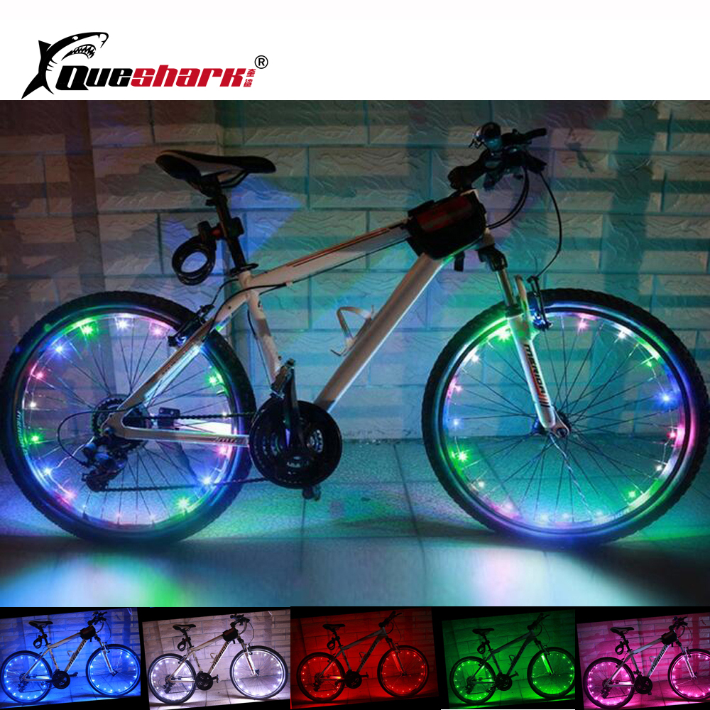 2 Pcs Waterproof 20 LED Bicycle Wheel Light Night Riding Colorful Bike Spoke Wheel Light Cycling Tire Lamp коврики в салон полиуретановые и коврик в багажник novline для zotye t600