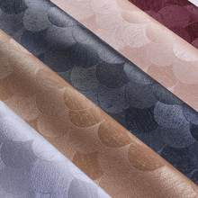 1 Meter 135cm Width Synthetic Leather Mermaid Leather Fabric For Sofa  Handbags Shoes Diy Pu Leather 452330d324fa