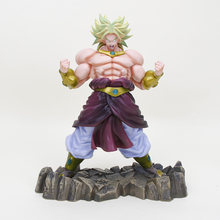 Dragon Ball KAI Super Saiyan Broly DragonBall Super PVC Figure Toy Collectible Modelo 26 cm(China)