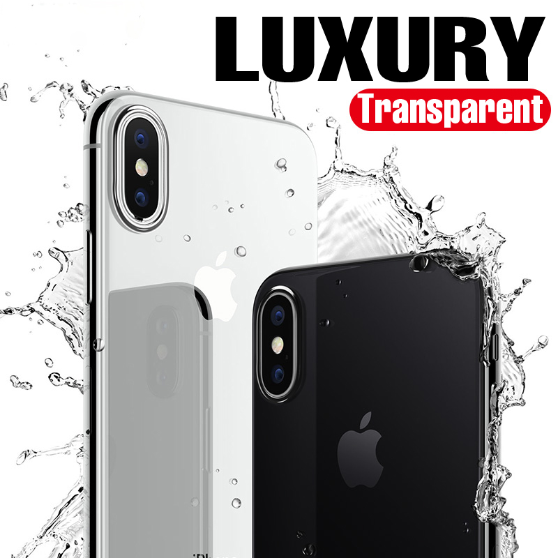 WeiFaJK Phone Case for iPhone 8 7 6 Plus 6s Silicone Soft Coque Luxury TPU Full Cover Case for iPhone 6 7 7 Plus 8 8 Plus X Case in Phone Bumpers from Cellphones Telecommunications