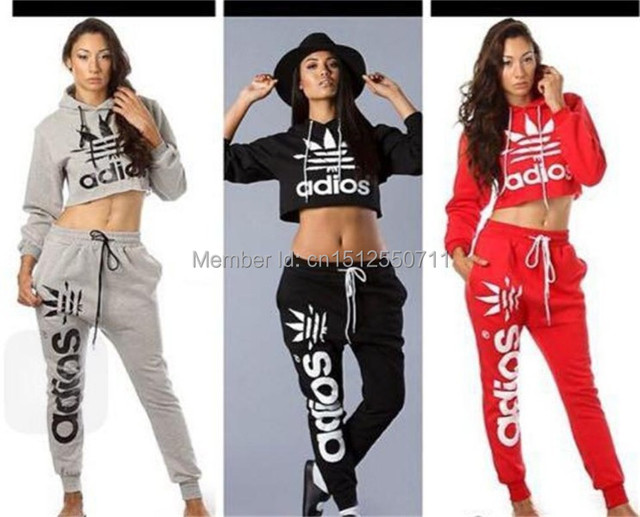 Fashion Autumn Women Sportswear Printed Letter Fall Tracksuits Brand