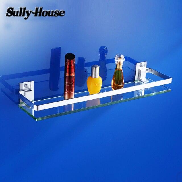Sully Huis Badkamer Aluminium 8mm Dikte Gehard Glas Plank, Badkamer ...