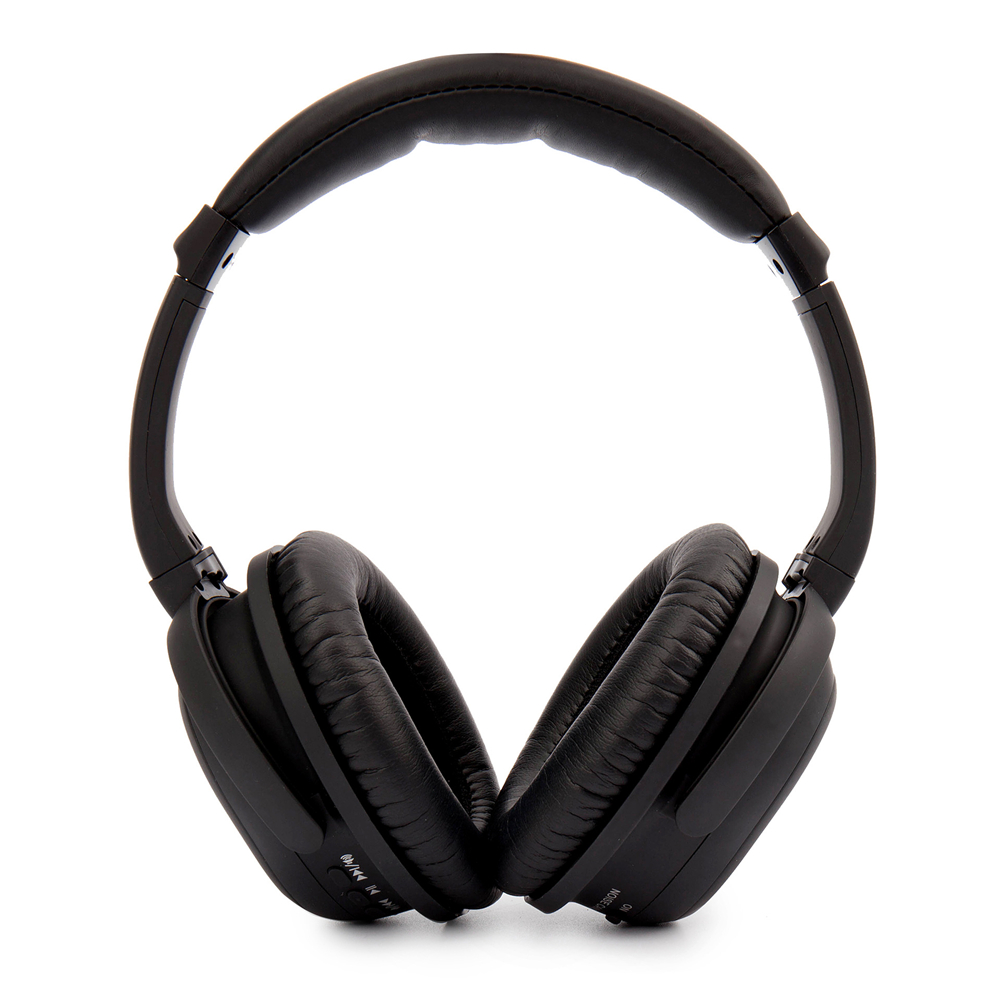 Active Noise Cancelling Headphones Wireless Bluetooth V4 0 High Resolution HiFi Stereo With Microphone
