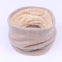 2017 Fashion Winter font b Scarf b font For Women Solid Color Thickened Wool Collar font