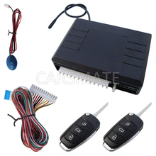 In Stock Car Keyless Entry System With Flip Key Remote Controls And Outside Code Learning Button LED Status Indicator!