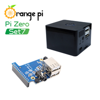 Orange Pi Zero Set 7: Expansion Board+Black Case,development board beyond Raspberry Pi