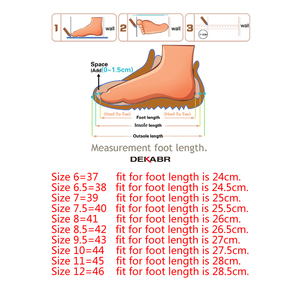 Image 5 - DEKABR Italian Mens Shoes Casual Luxury Brand Summer Men Loafers Split Leather Moccasins Comfy Breathable Slip On Boat Shoes