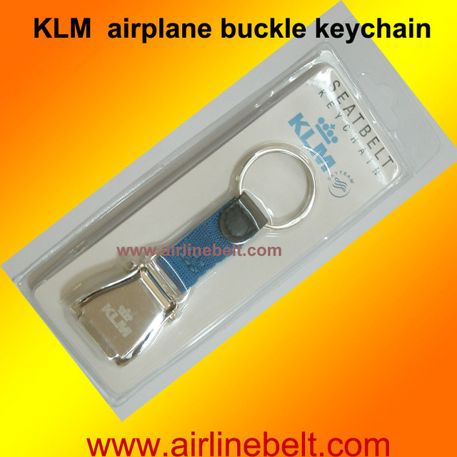 f2f2500d763e57 Free shipping Royal Jordanian KLM Emirates airline airplane seat belt  buckle keychain keyring hot selling aircraft key chain