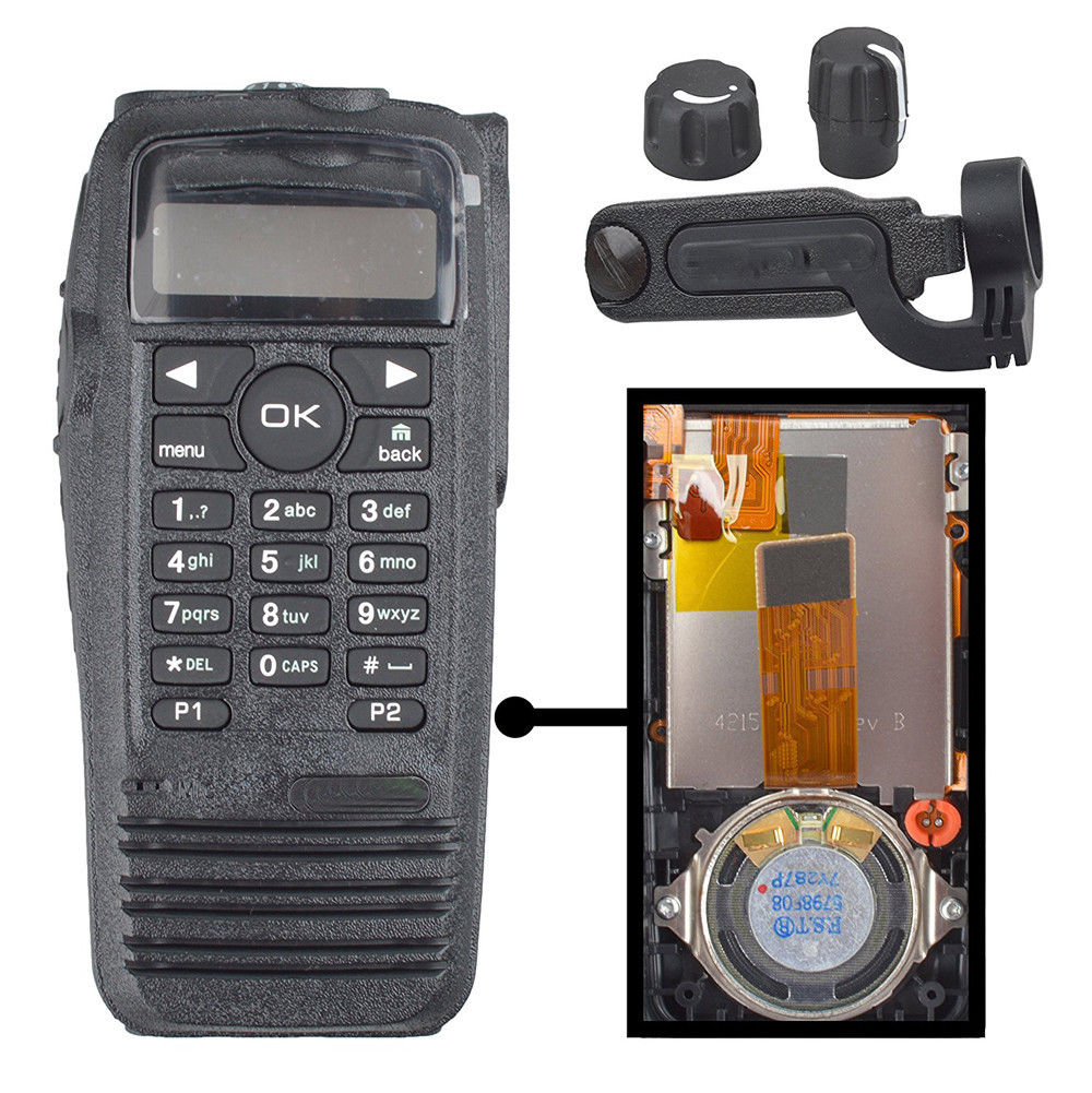 Replacement Housing Case with Speaker For Motorola DGP6150 Portable