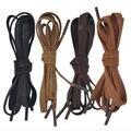 Телевизор с Воском Цветные Шнурки 8 мм ширина Мужская шнурки Шнур 100% Хлопок Обуви Кружева красочные 120 см