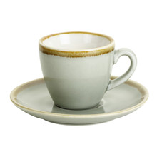 90ml Ceramic Coffee Cup Espresso Cup with Saucer