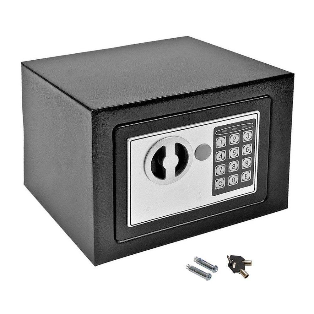 Newest Durable Security Home Office Digital Electronic Safety Box Key Cash Personal Lock Deposit Money Box Mini Machine microsoft office 365 personal для windows macos и ios box