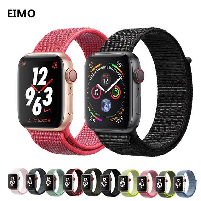 838831322d8 ... esporte Para apple watch band 4 44 relógio 38 42mm mm mm mm correa  aplle 40 Tecido pulseiras de relógio de Nylon correia de pulso iwatch série  4 3 2 1 ...